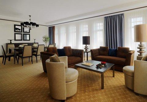 Novosibirsk Marriott Hotel - Presidential Suite Living Room
