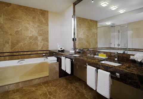 Novosibirsk Marriott Hotel - Presidential Suite Bathroom