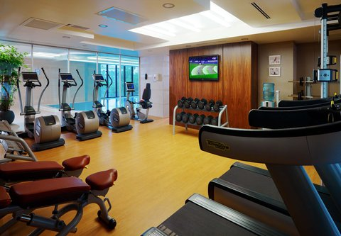 Novosibirsk Marriott Hotel - Fitness Center
