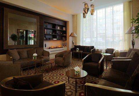 Novosibirsk Marriott Hotel - Lobby Lounge