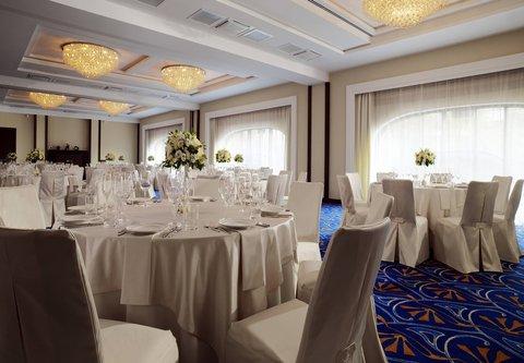 Novosibirsk Marriott Hotel - Chaikovsky Room - Banquet Setup