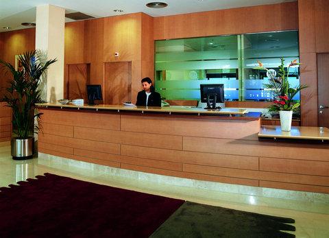 NH La Maquinista - lobby reception