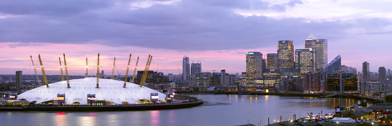 Crowne Plaza Hotel London Docklands Pohled zvenku