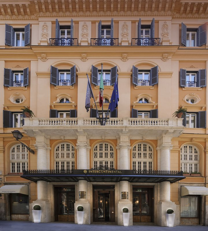 InterContinental IC de la Ville-Roma Pohled zvenku