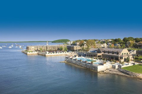 Harborside Hotel Marina and Spa - Aerial Bluer