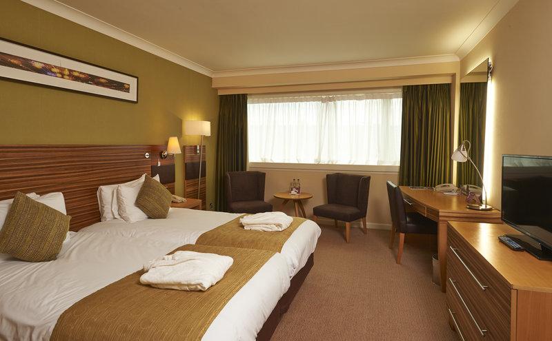 Crowne Plaza Hotel NOTTINGHAM Vista do quarto