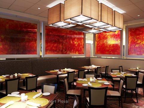 Holiday Inn Chicago Mart Plaza Hotel - Merchants Cafe