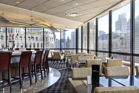 Holiday Inn Chicago Mart Plaza Hotel - Signature Cocktails   Skyline Views
