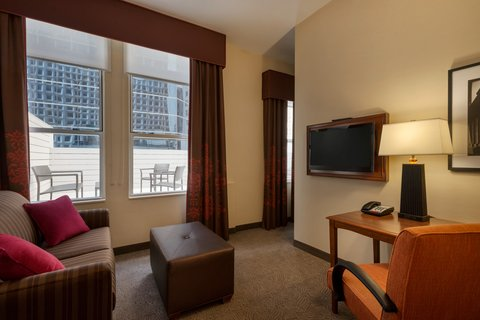 Hampton Inn Manhattan-Downtown-Financial - King Studio Suite