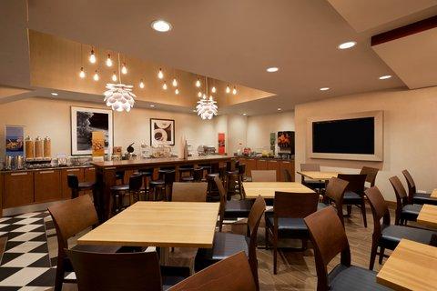 Hampton Inn Manhattan-Downtown-Financial - Breakfast Area
