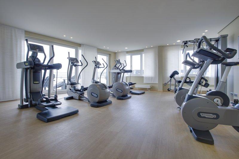 Radisson Blu Hotel Hamburg Airport Fitness salonu