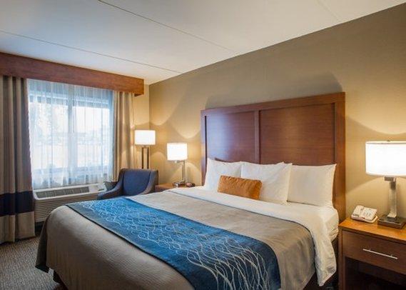 Comfort Inn Edgewater Odanın görünümü