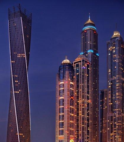 فندق ماريوت هاربر دبي - Exterior