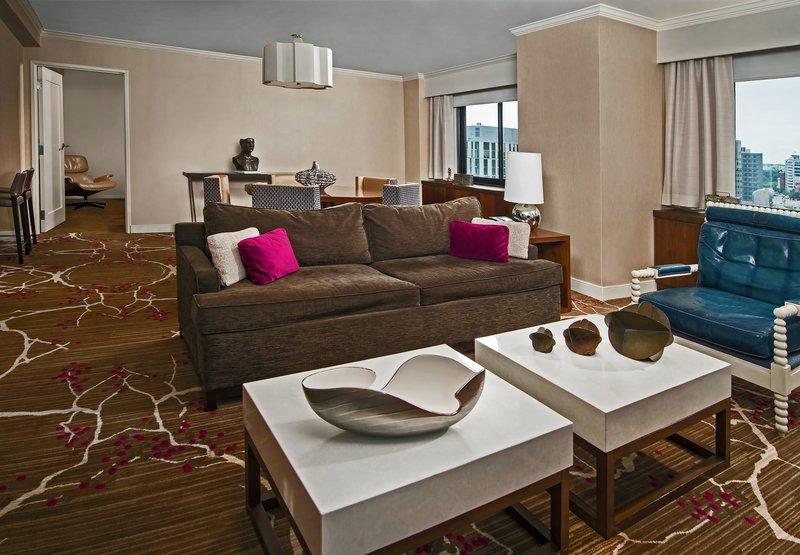 Renaissance Washington DC Hotel Zimmeransicht