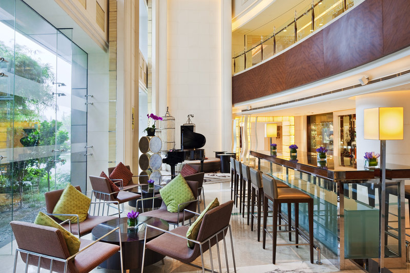 Crowne Plaza Hotel Fudan Shanghai Bar/Lounge