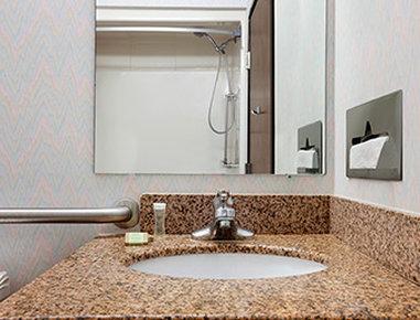Super 8 Evansville North - ADA Bathroom
