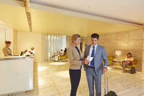 The Airport Hotel - Transit Only - Reception