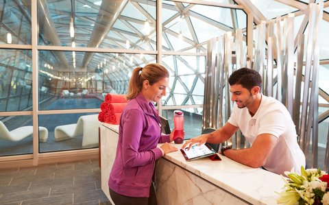 The Airport Hotel - Transit Only - Vitality Reception