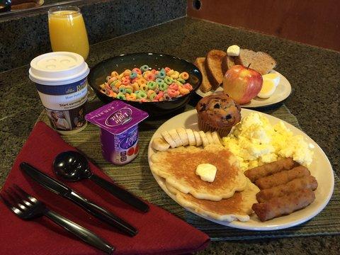 BEST WESTERN Northwest Lodge - Breakfast Plate