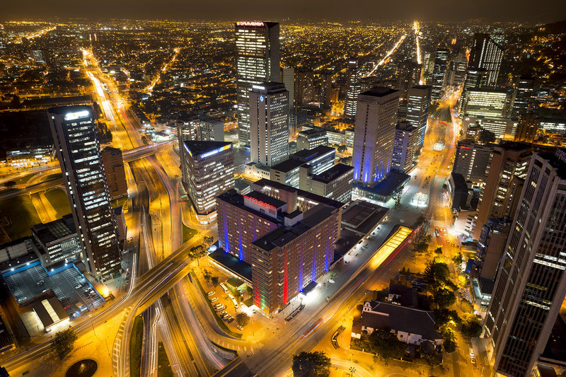 Crowne Plaza Tequendama Bogota Ulkonäkymä