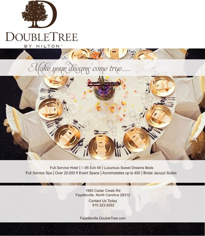 DoubleTree by Hilton Fayetteville - Double Tree Wedding Photo