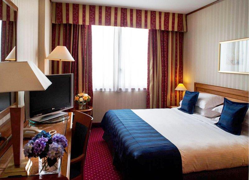 Crowne Plaza Hotel Milan-Linate Vista della camera