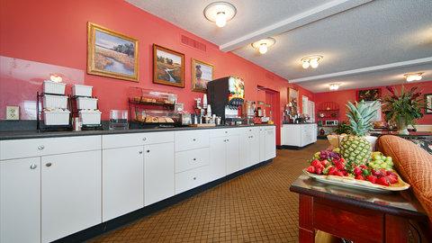Best Western Sea Island Inn - Breakfast Area