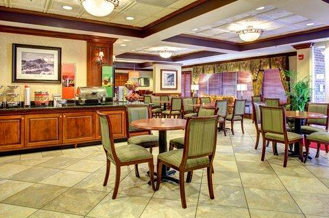 Hampton Inn Columbia Downtown Historic District - Breakfast Seating