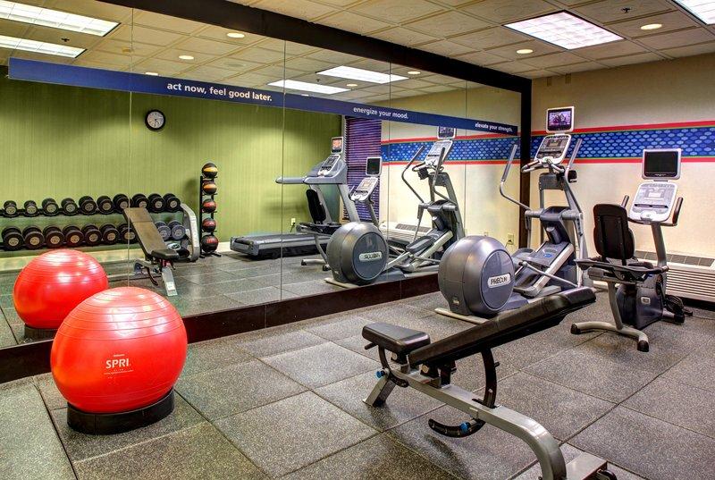 Hampton Inn Columbia Downtown Historic District 健身俱乐部