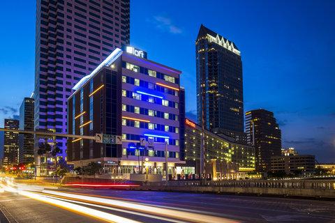Aloft Tampa Downtown - Exterior
