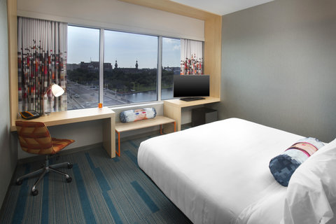 Aloft Tampa Downtown - King Guest Room
