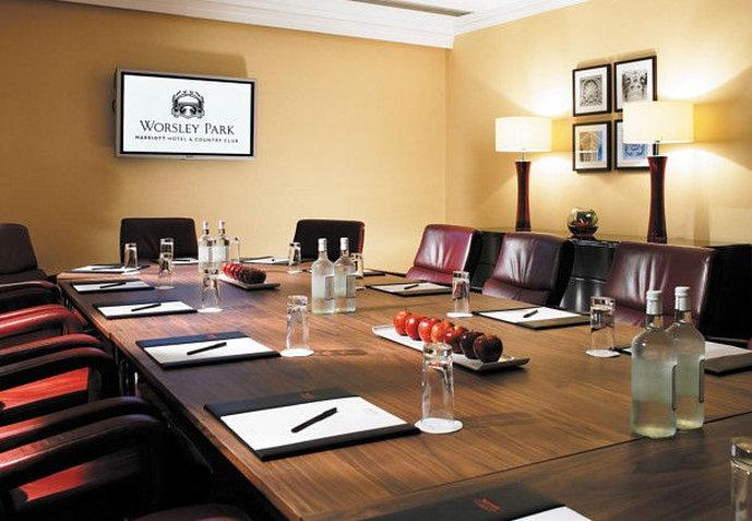 Worsley Park Marriott Hotel and Country Club Vista do quarto