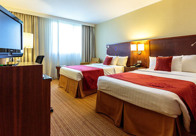 Courtyard Toulouse Airport Chambre