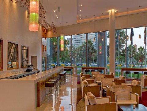 هيلتون دياغونال مار برشلونة - Pistaccio Lobby Bar