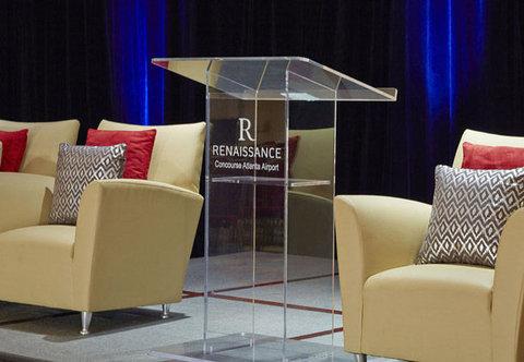 Renaissance Concourse Atlanta Airport Hotel - Concourse Ballroom - Details