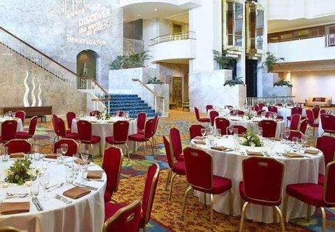 Renaissance Concourse Atlanta Airport Hotel - Atrium Level   Banquet Setup