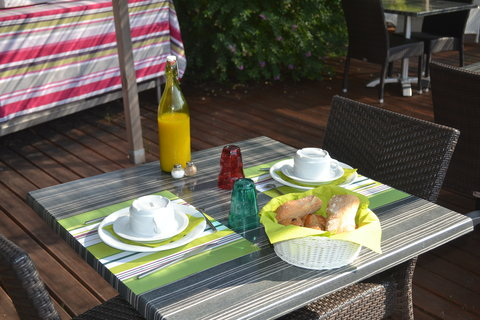Hotel et Residence le Rivage - Outside breakfast
