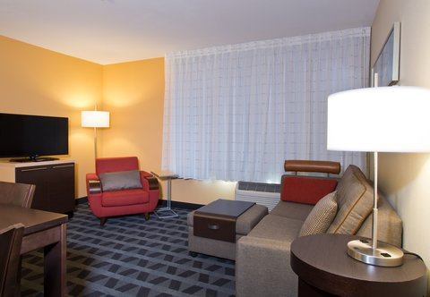 TownePlace Suites Dodge City - One-   Two-Bedroom Suite   Living Area