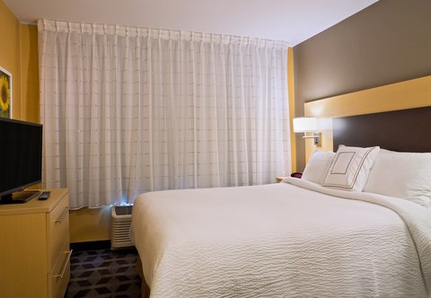 TownePlace Suites Dodge City - One-   Two-Bedroom Suite   Sleeping Area