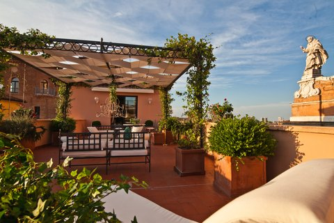Grandhtl Majestic Gia Baglioni - Terrace View