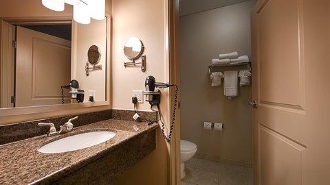 BEST WESTERN PLUS Chena River Lodge - Bathroom