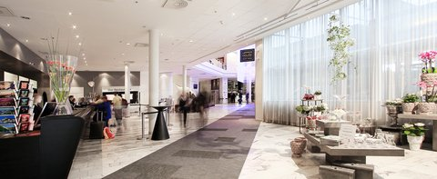 Gothia Towers - Lobby at Gothia Towers Gothenburg
