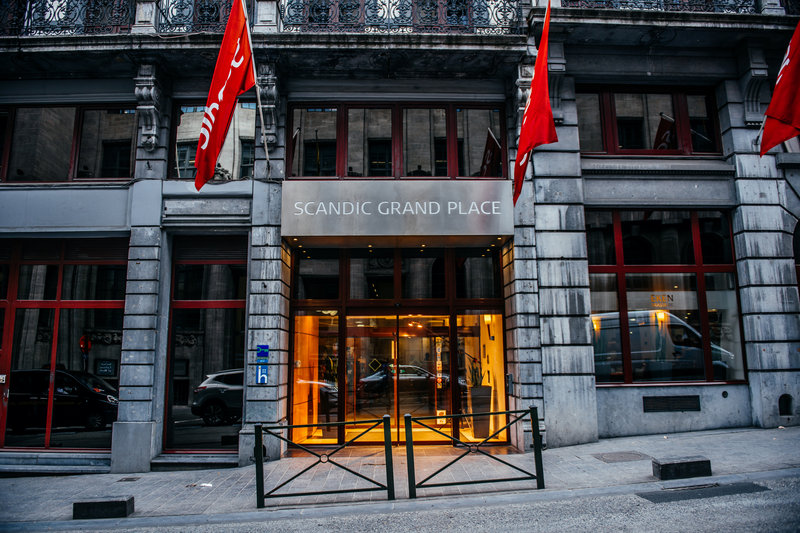 Scandic Grand Place Brussels 外景