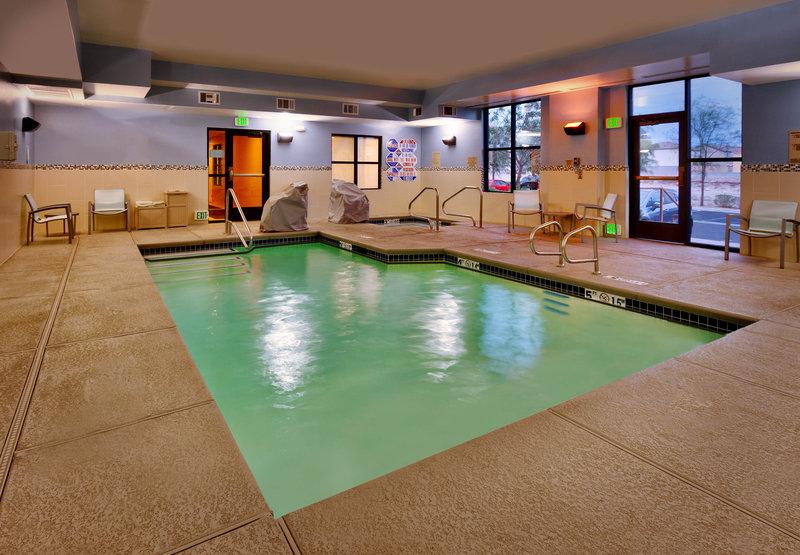 SpringHill Suites Las Vegas Henderson 健身俱乐部