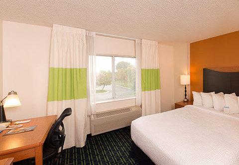 Fairfield Inn & Suites Billings - Queen Guest Room
