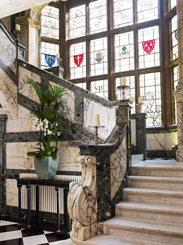 The Scotsman Hotel Preferred Hotels and Resorts - Marble Staircase