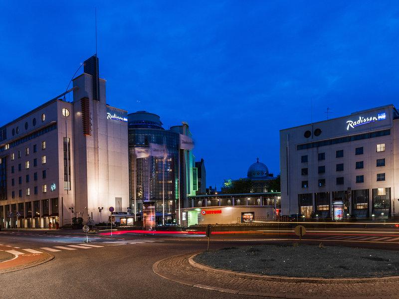 Radisson Blu Royal Hotel, Helsinki Widok z zewnątrz