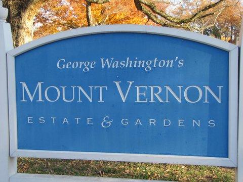 Hampton Inn & Suites Mt. Vernon/Belvoir-Alexandria South - George Washington s Mount Vernon Estate   Gardens Signage