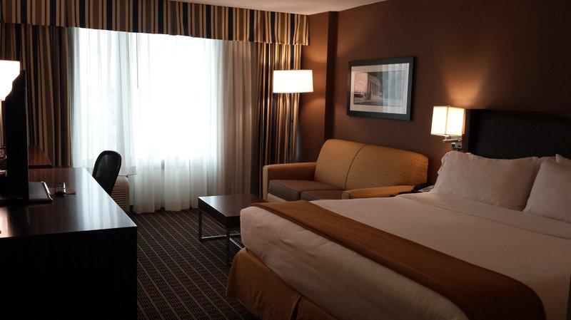 Holiday Inn Express Springfield I-95 S of I-495 Vista della camera