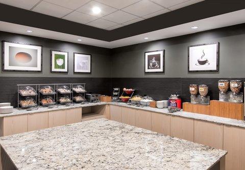 Fairfield Inn & Suites Charlotte Uptown - Breakfast Area